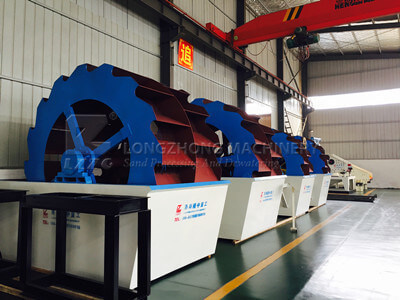 wheel sand washing machine manufacture