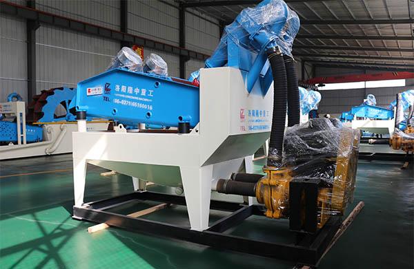sand extraction machine