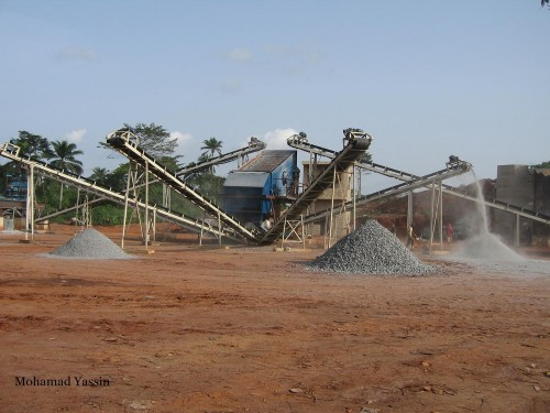 Crushing plant in Nigeria