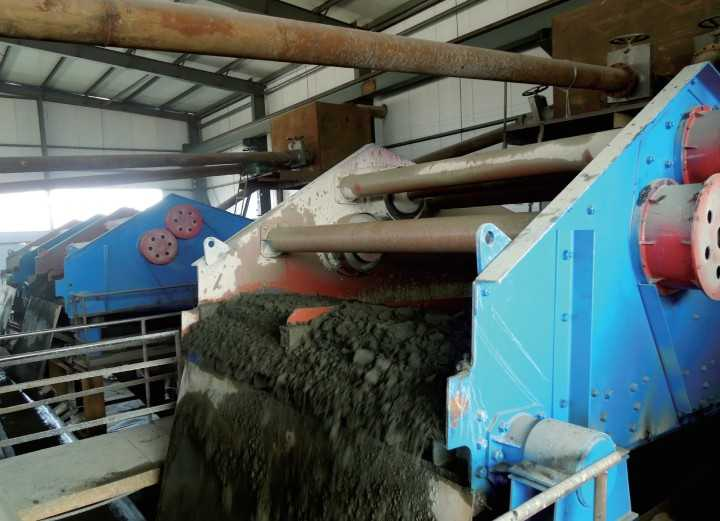dewatering screen,dewatering plant