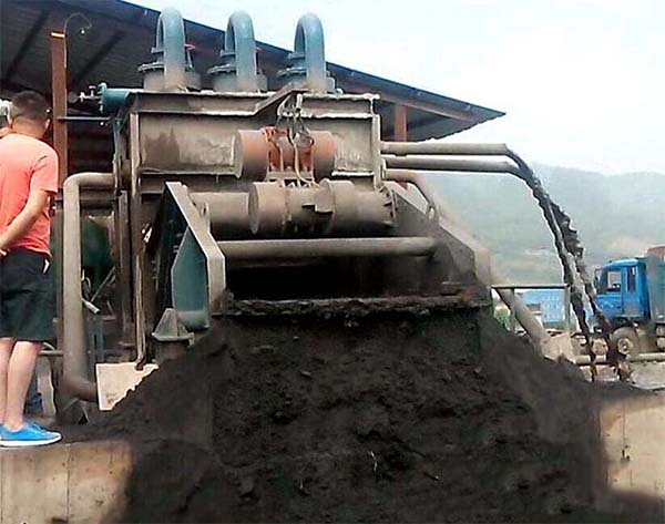 tailing dewatering screen