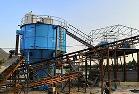 Deep cone thickener in Vietnam