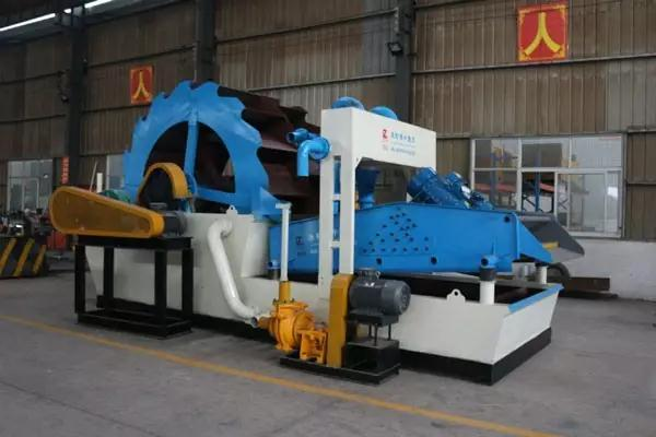 low consumption sand washing machine