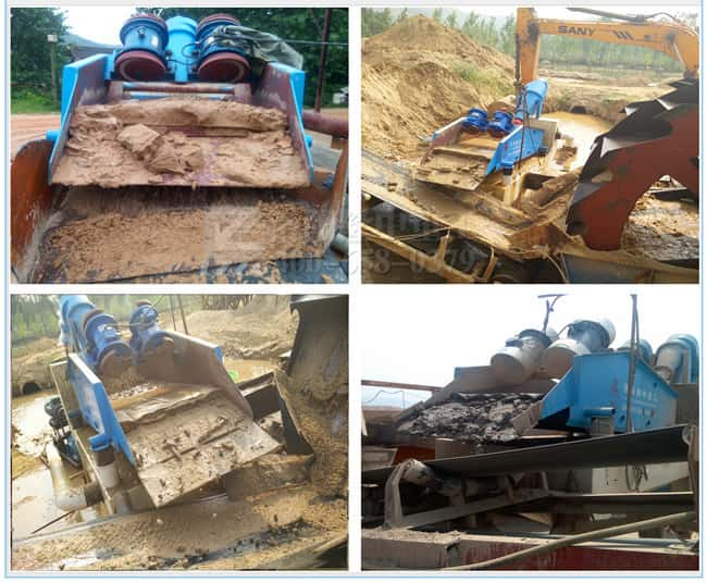 The application of Vibrating Screen Equipment in new field