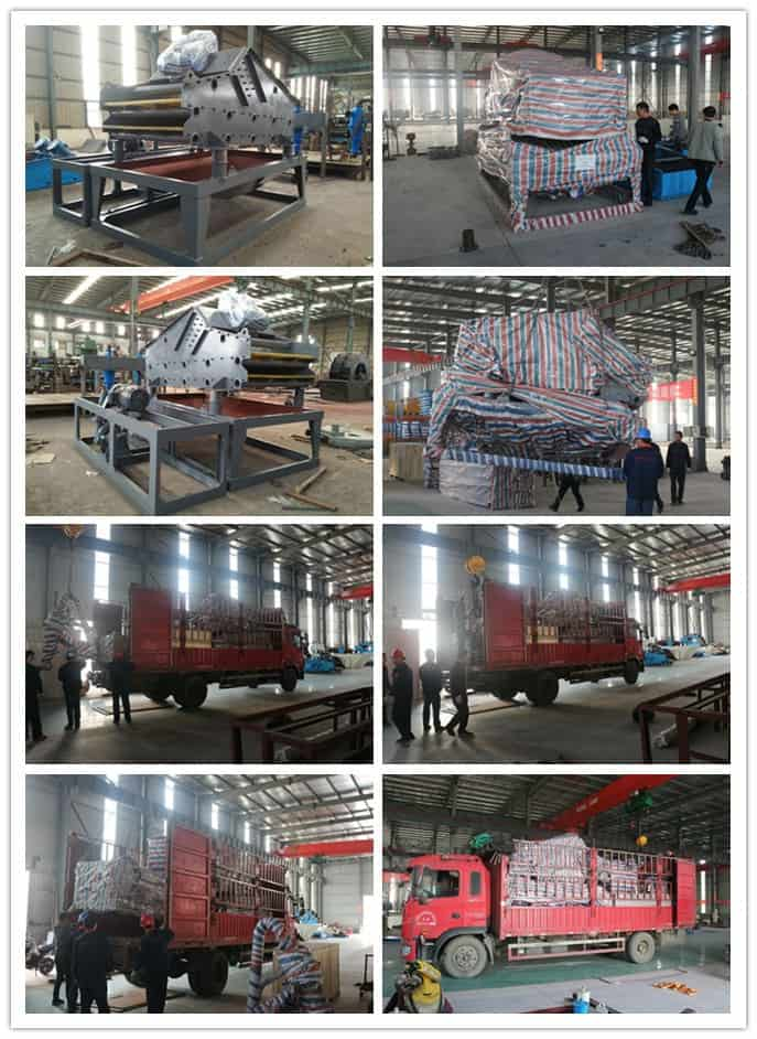 the 2LZ15-35 Fine Sand Recycling System is shipped to the United States.-min