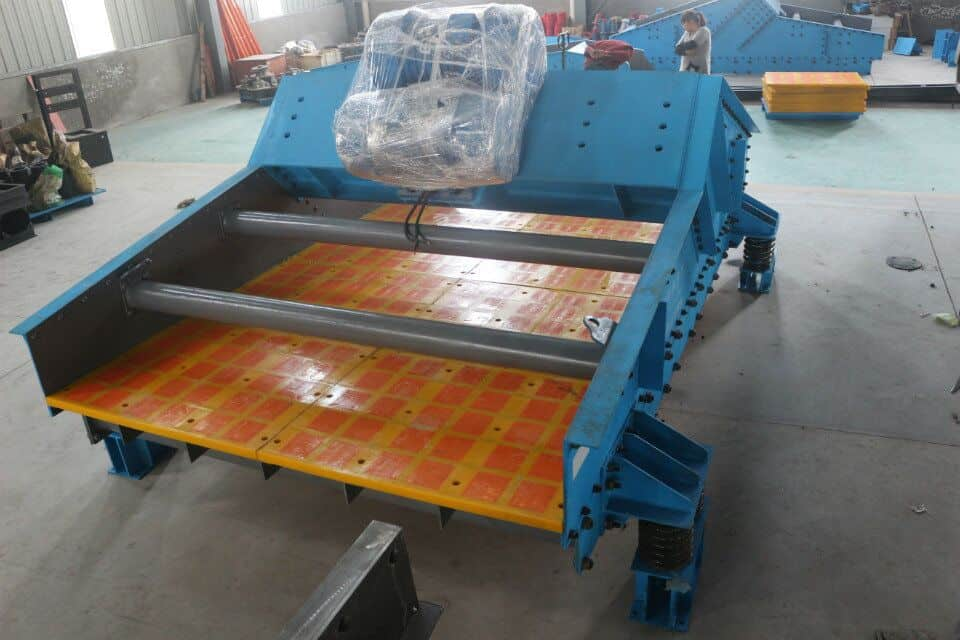 High efficiency vibrating screen meets the demand of production.