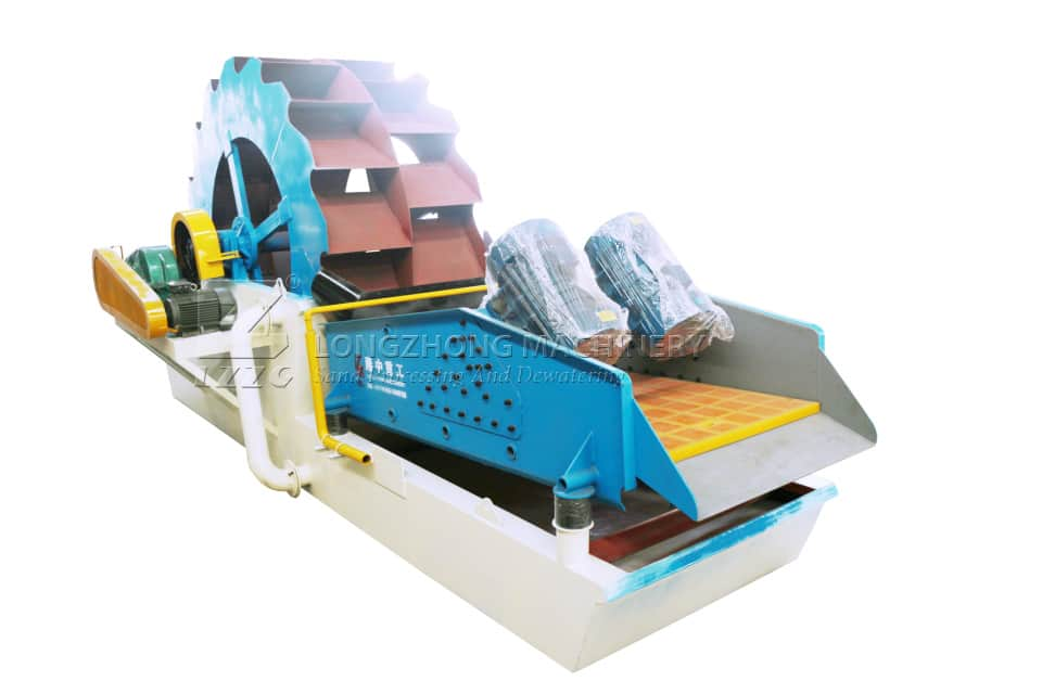 The new sand washing machine can improve economic benefit.