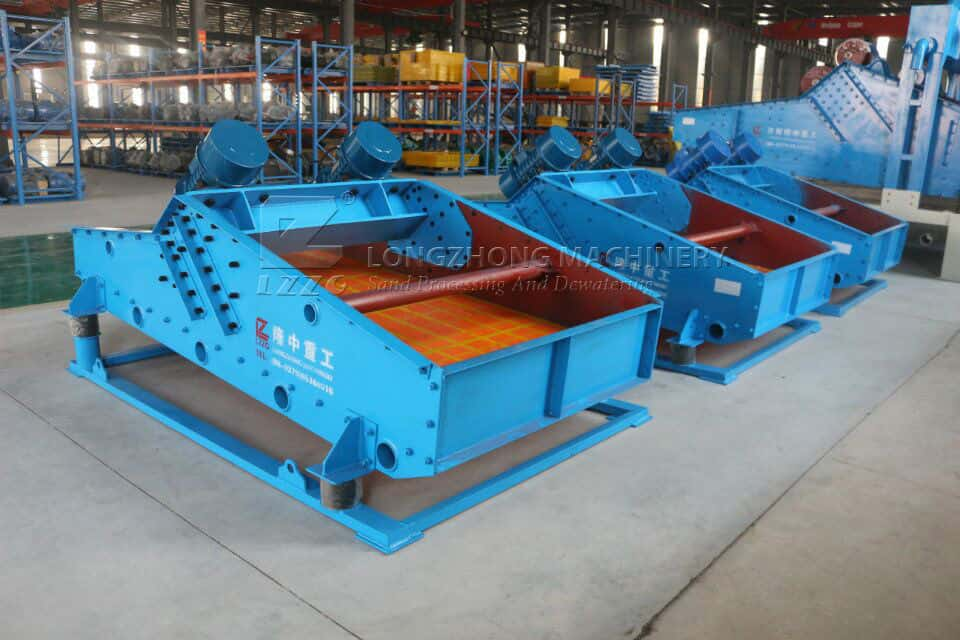 How to ensure the output of dewatering screen