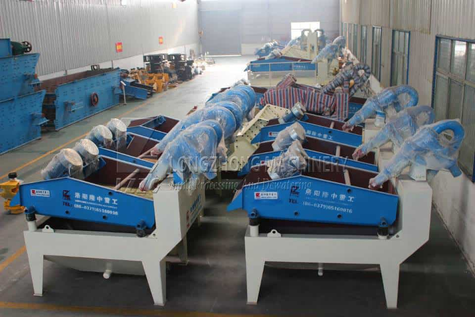 To buy suitable mining sand recycling machine.