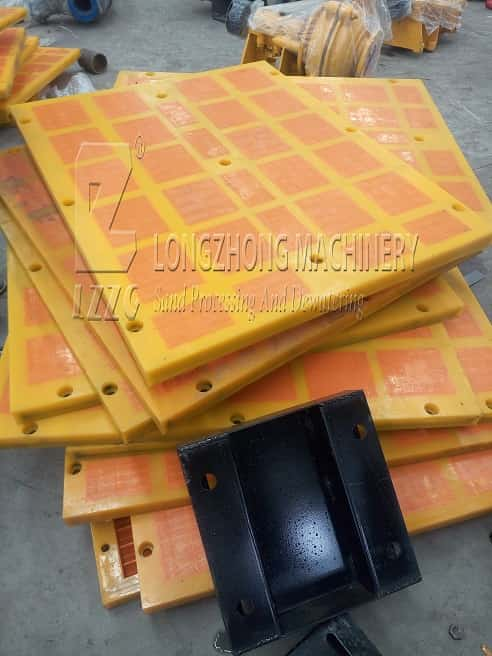 About the using life of screen plate of dewatering screen.