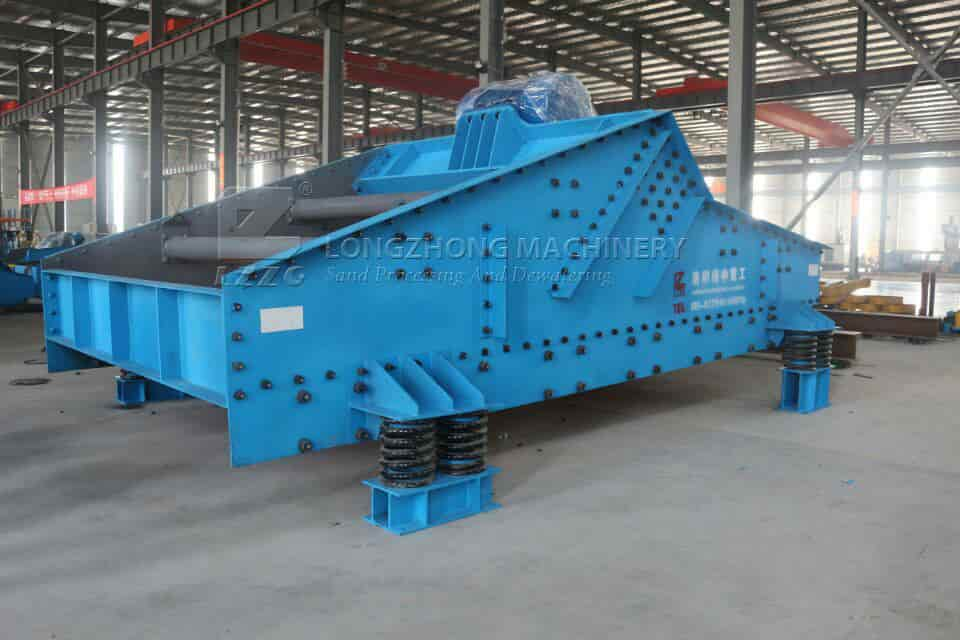 sieving plate of dewatering screen