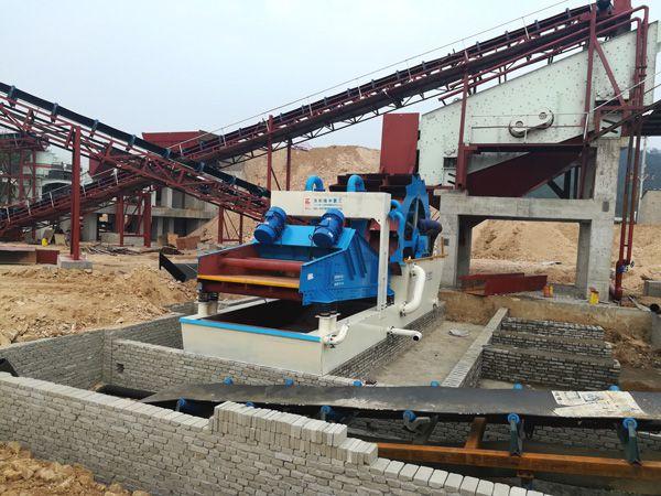 Sand washing machine materials has excellent wear resistance.