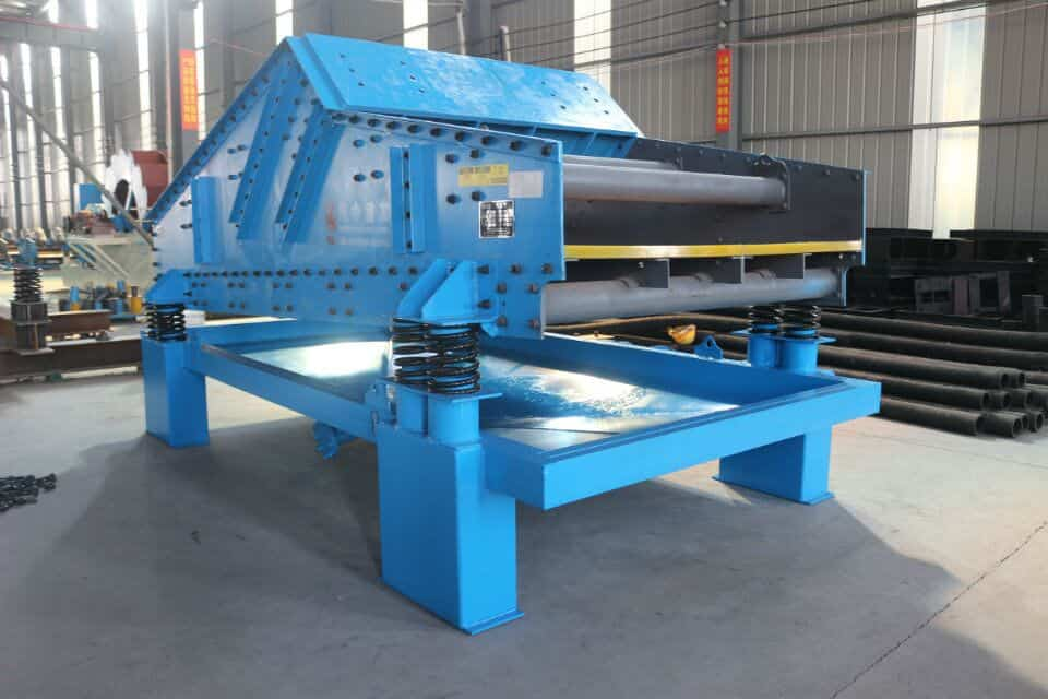 sand vibrating screen