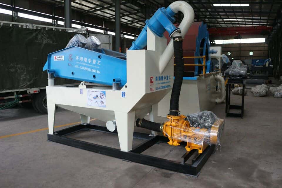 safe operation of sand recycling machine