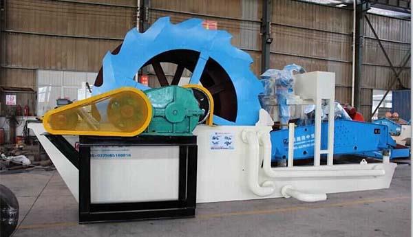 silica washing machine
