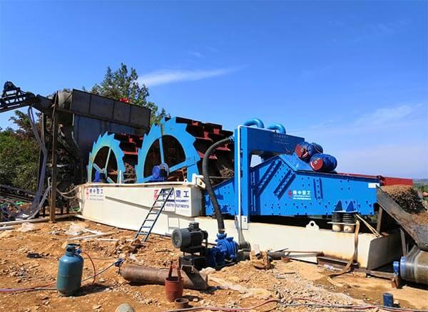 sand washing machine in india