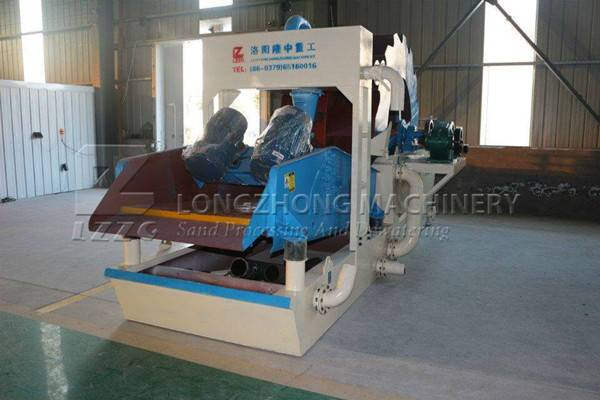 It is a good sanity for customers to buy a new sand washing machine (1)