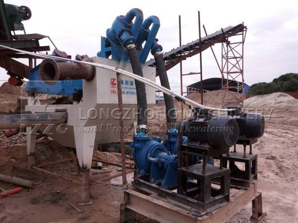 The most environmental friendly sand washing machine made by LZZG (1)