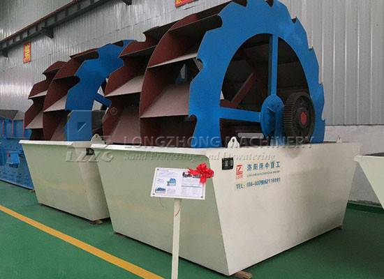 Water resource is essential factor in the sand washing machine process (1)