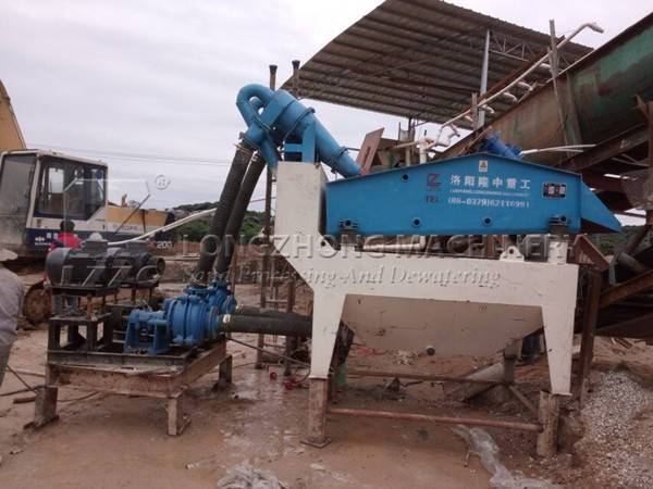 A high-efficiency and multi-function sand washer (1)
