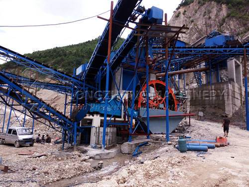 LZZG is the best manufacturer for you to choose sand washing machine