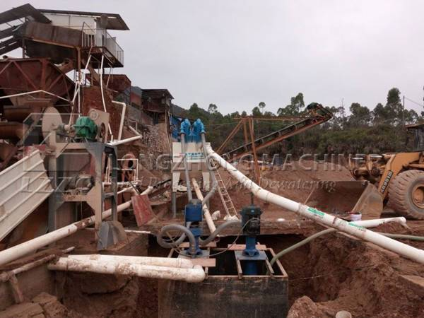 Sand washing machine for sale in Africa (1)