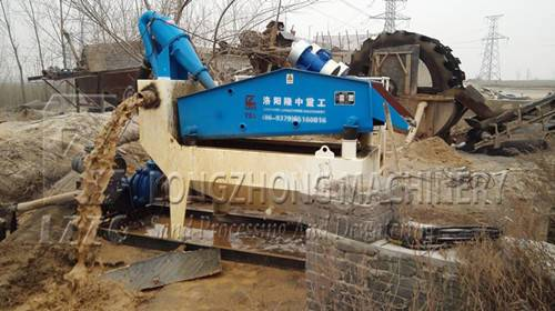 Sand washing machine in gravel production line (1)