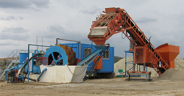how is silica sand processed