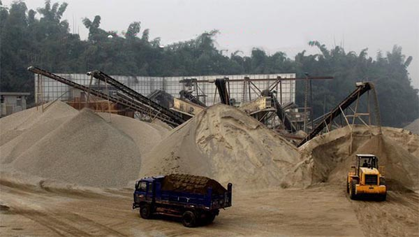 Sand washing plant process manufacture