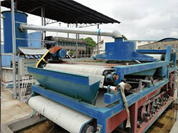 Belt Filter Press in Washing Plant
