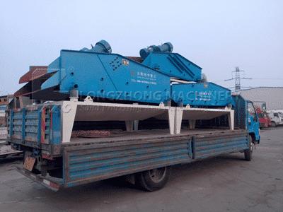 dewatering screens transport