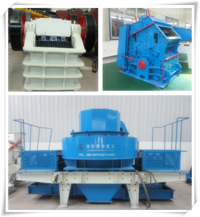 sand crushing machine