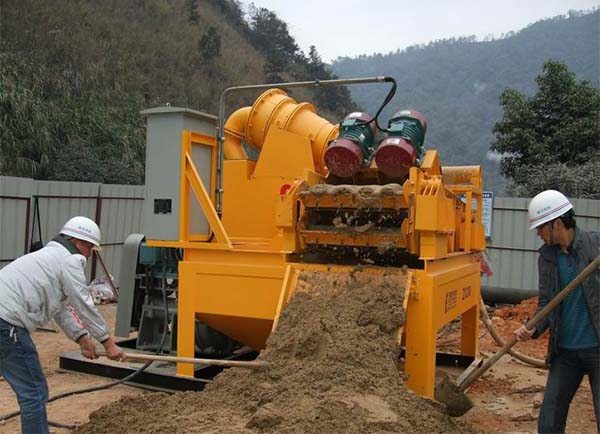 LZ sludge treatment machine