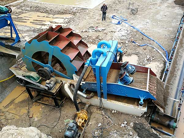 sand washing machines