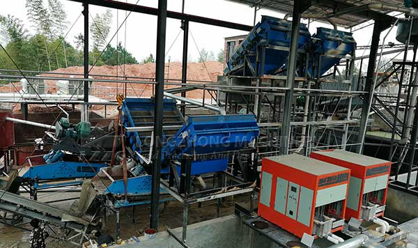 dewatering screening