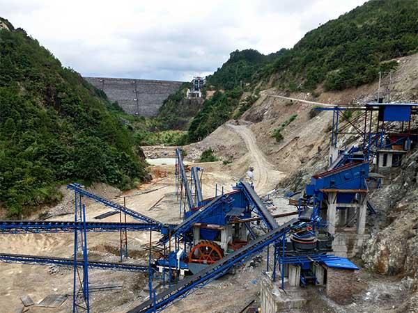 sand production line