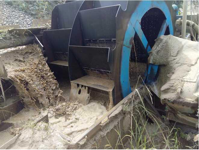 sand-washer