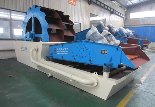 lz sand washing and dewatering machine