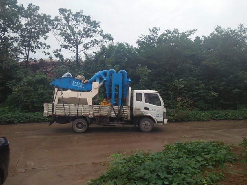 LZ550 Fine Sand Recycling System was sent to guangdong.