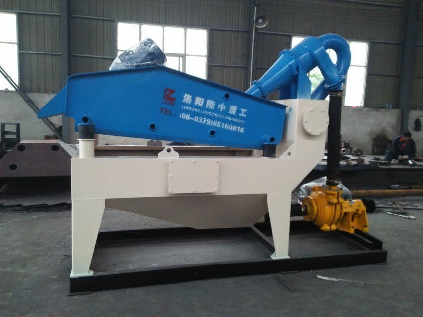 Mining reseller ordered the LZ550 Sand Recycling System made by Luoyang LZZG for export.