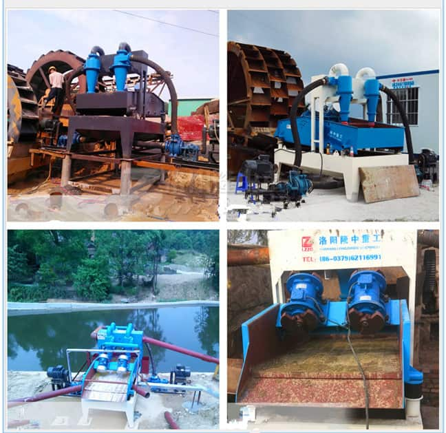 Knowledge of Sand Washing Machine fine sand processing equipment