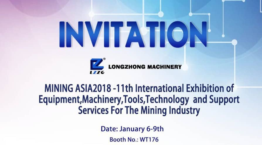 MINING ASIA2018-11th International Exhibition of Equipment, Machinery, Tools, Technology and Support Services For The Mining Industry