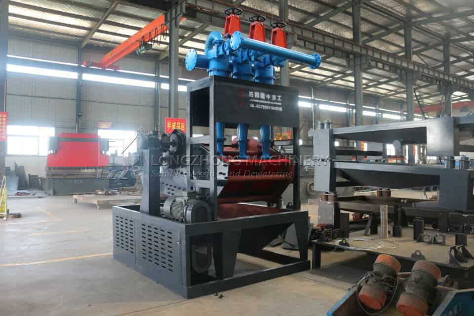 The function of Tailing Dispose Machine