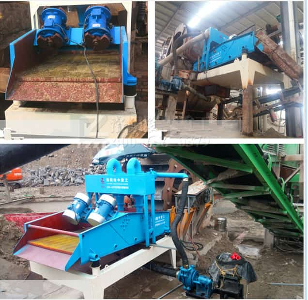 The specific application of sand processing equipment of Luoyang LZZG