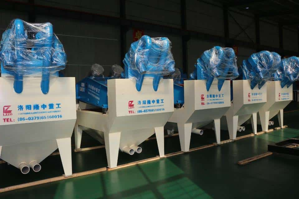 The three principles to select sand washing production line.