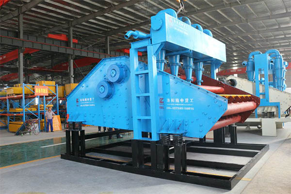 fine sand recycling system