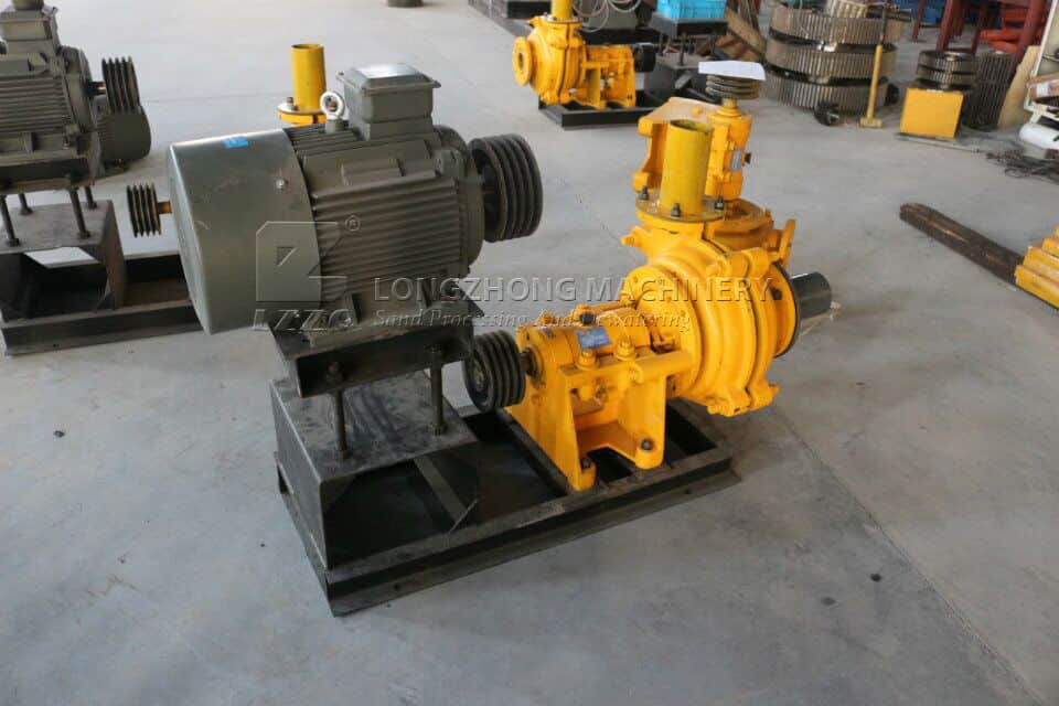 The parts of sand washing machine are improving constantly.