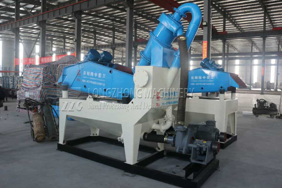 Longzhong LZ series sand recycling machine worth having