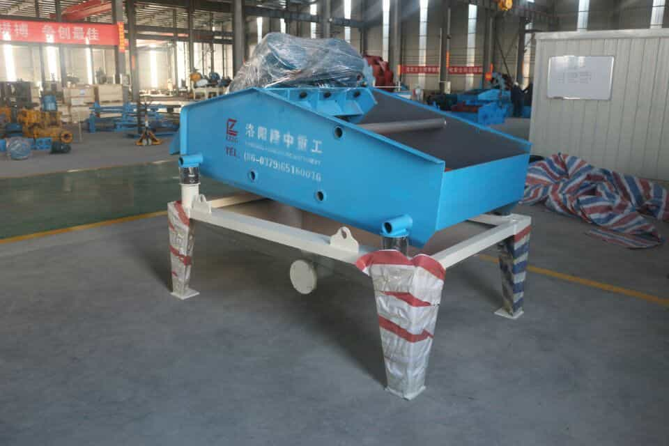 TS1020 dewatering screen has been sent to Tanzania