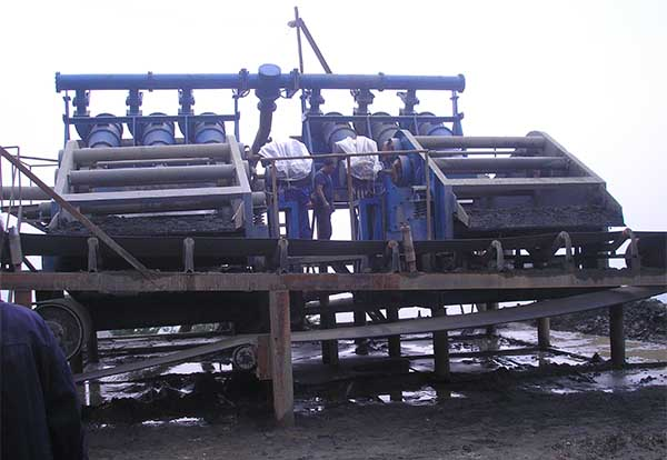 coal dewatering screen